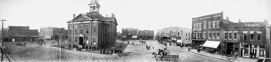 Marion, IL Public Square (1910)